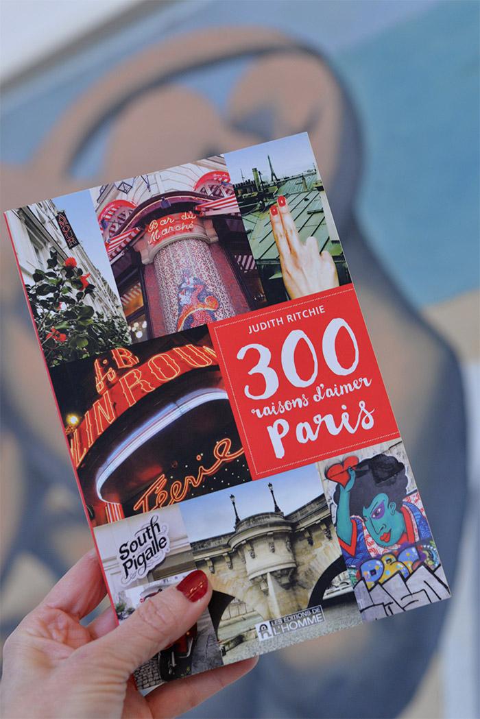 livre 300 raisons aimer paris
