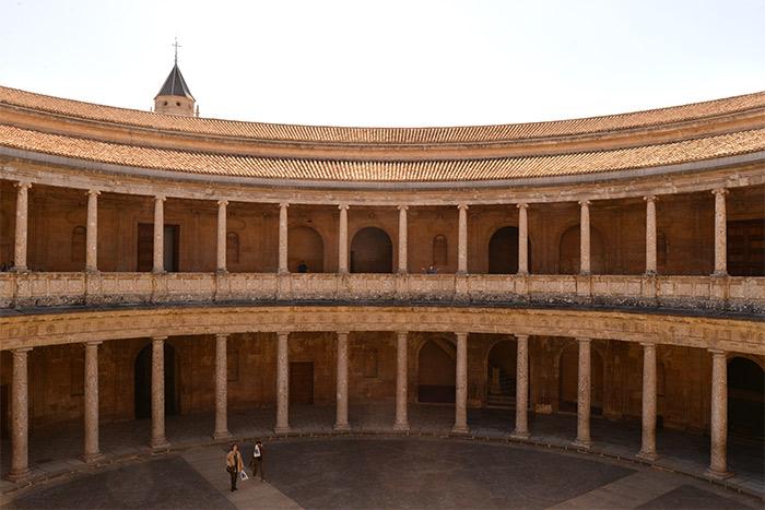 palais charles quint alhambra grenade