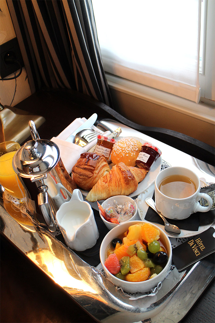 hotel da vinci paris breakfast
