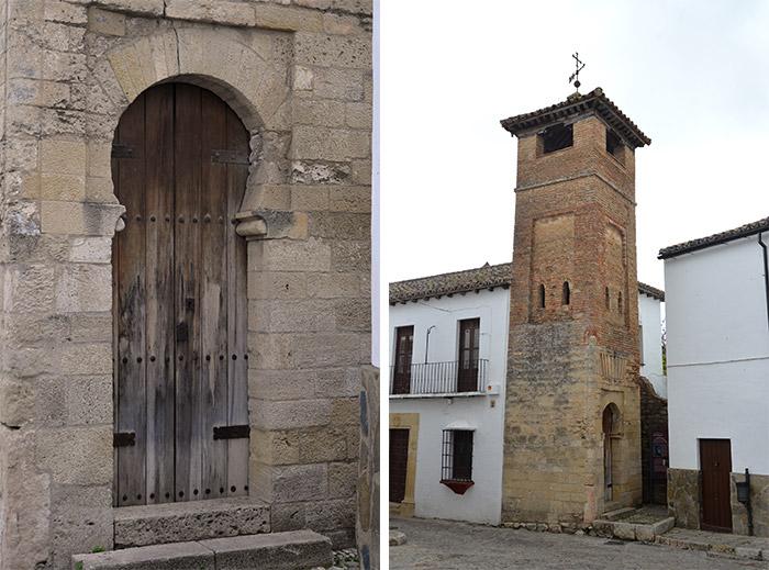 minaret ronda andalousie