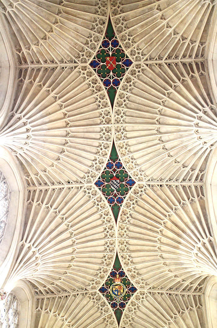 Bath abbey plafond
