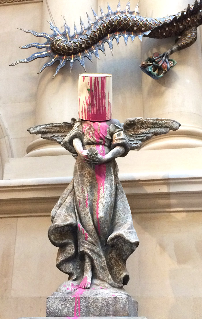 banksy angel pot bristol museum