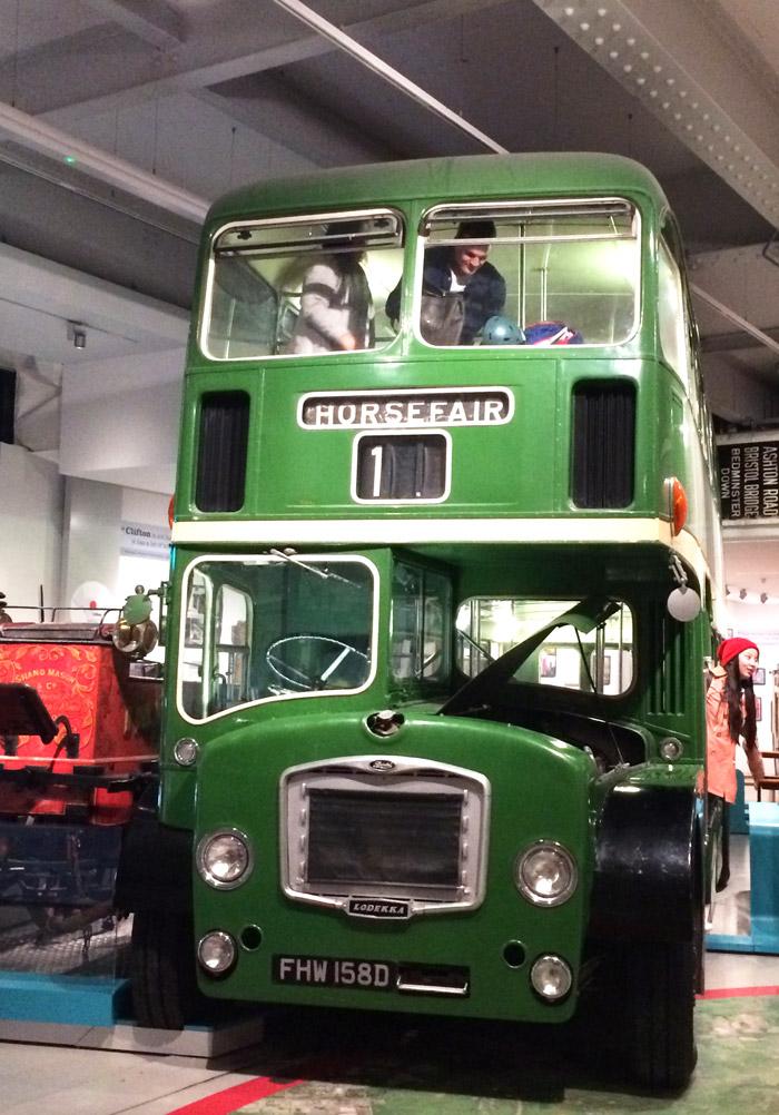 vintage bus mshed museum