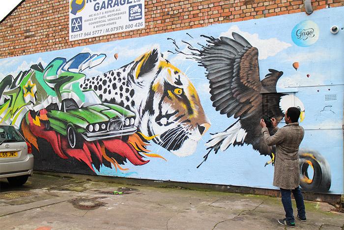 wherethewall streetart tour bristole