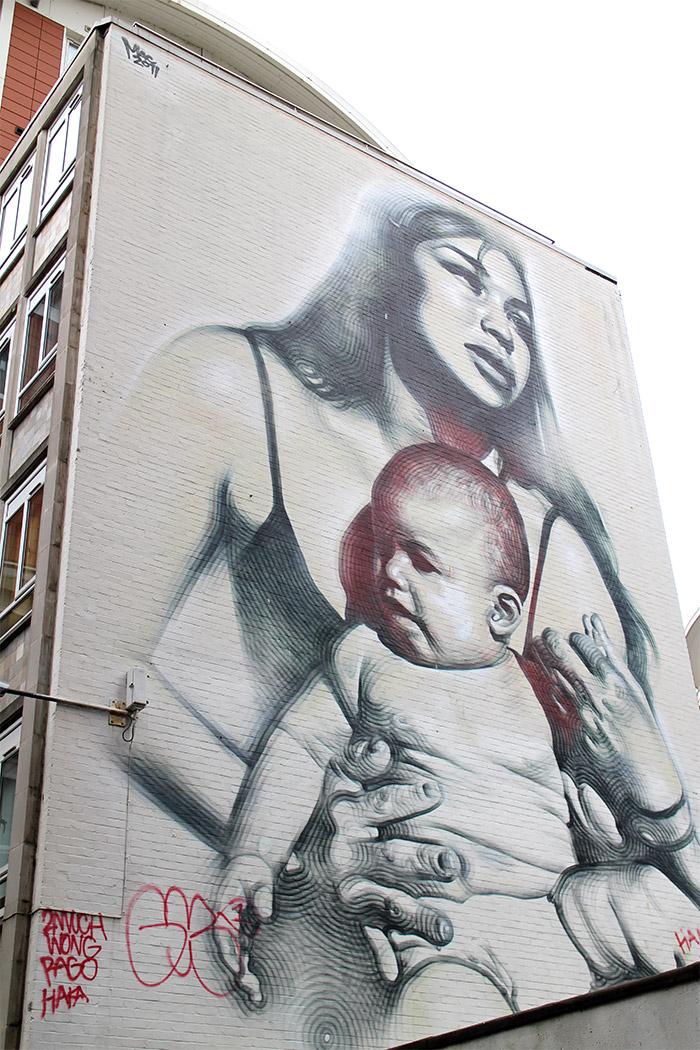 el mac street art bristol