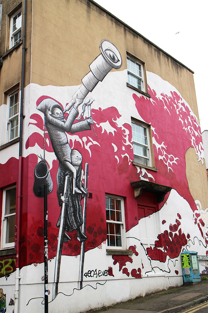 bristol phlegm street art