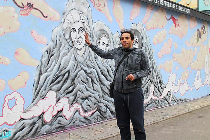 bristol street art tour wherethewall