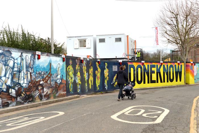londres hackney wick street art
