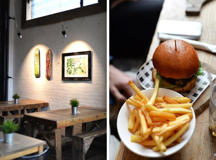restaurant 90 hackney wick burger
