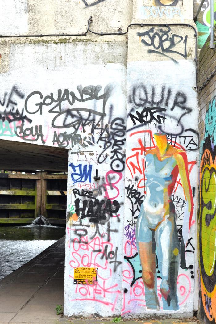 graffiti hackney wick uk