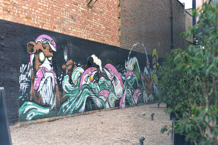 street art hackney wick