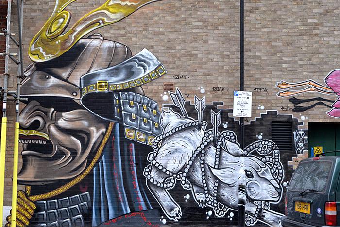 londres hackney wick urban art