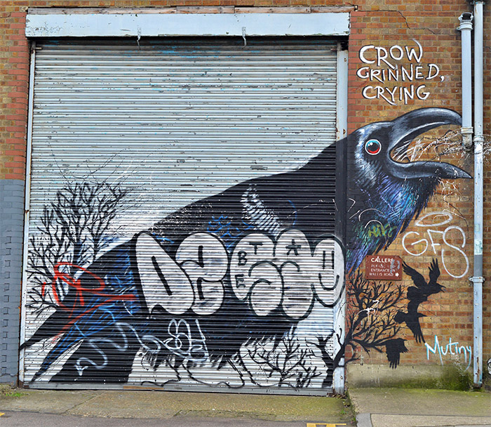 irony crow hackney wick