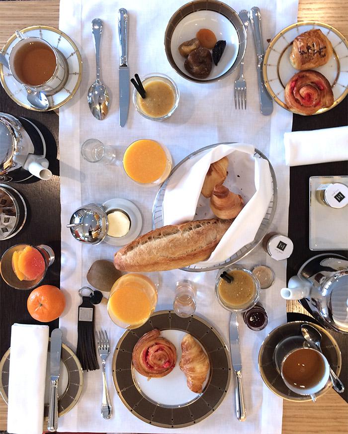 breakfast villa maia hotel lyon