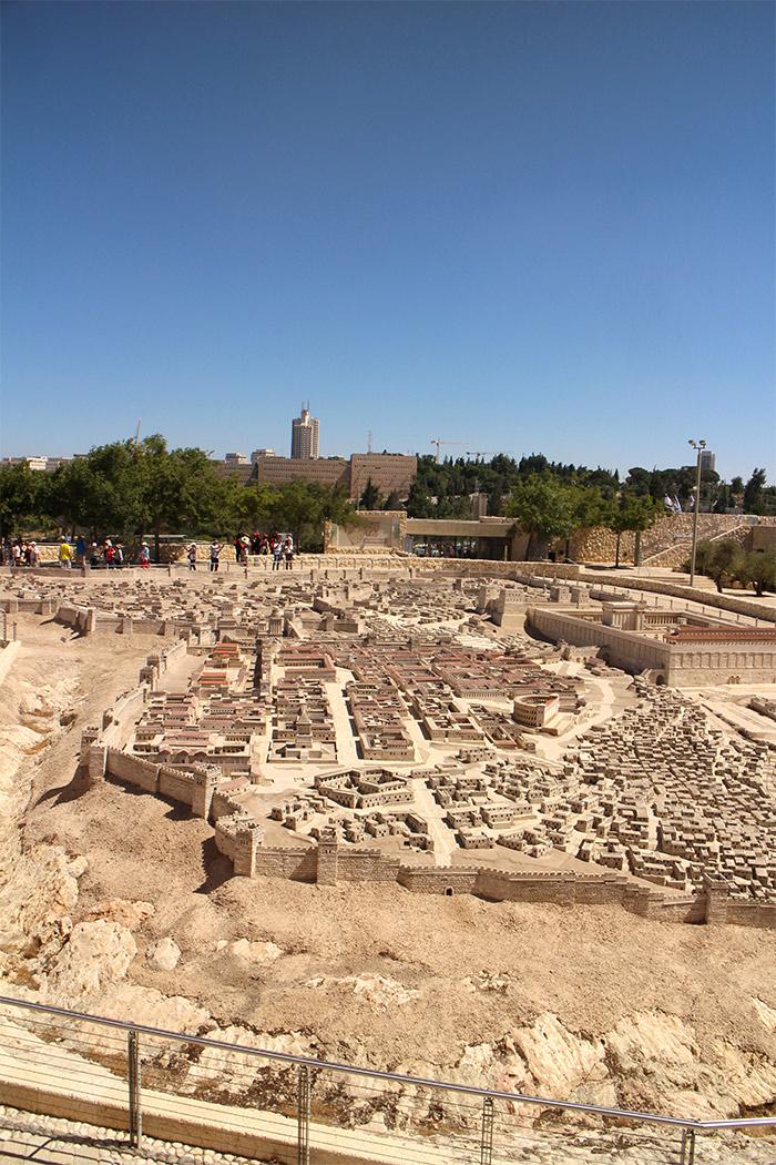 musee israel jerusalem maquette