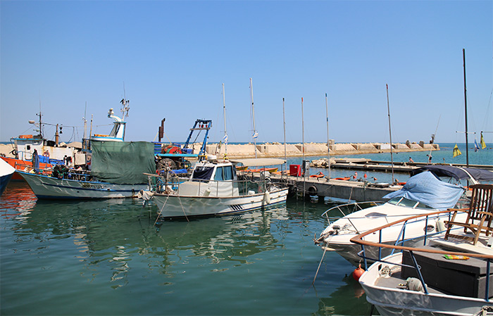 old jaffa port harbour