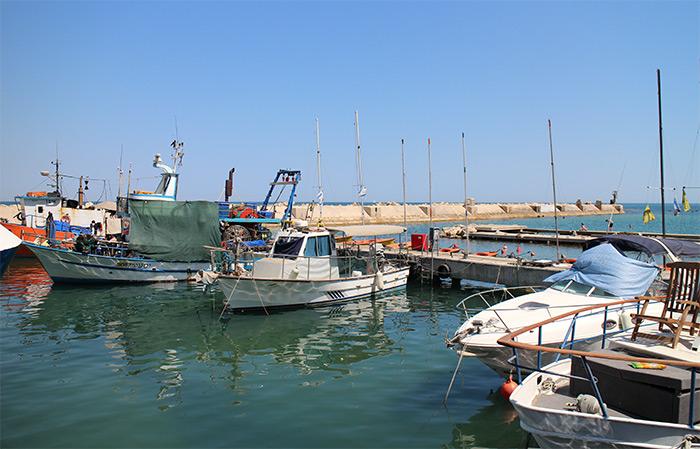 old jaffa port harbour