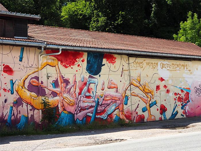 pallud savoie street art