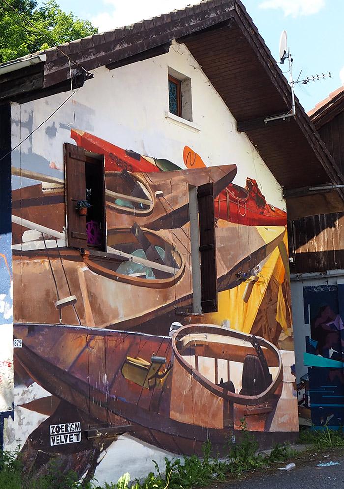 Zoer & Velvet street art