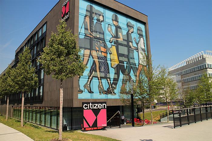 roissy cdg citizenM hotel