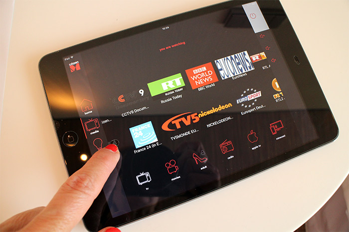roissy citizenm ipad