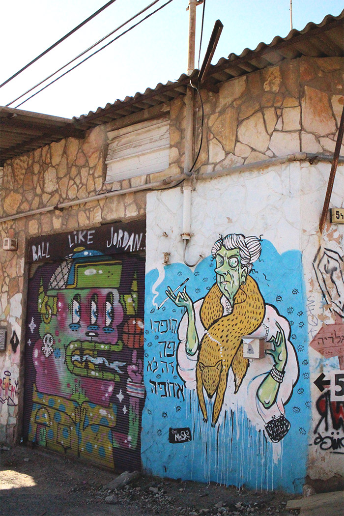 frenemy street art tel aviv