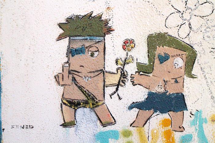 tel aviv street art sened