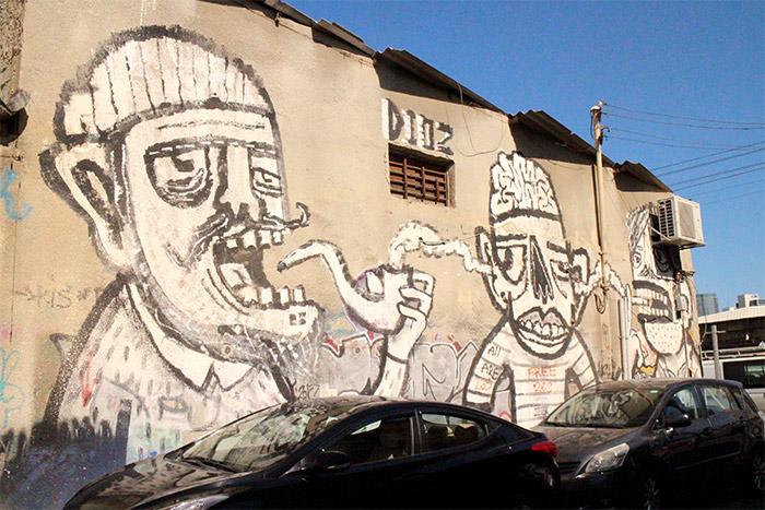 tel aviv florentin street art