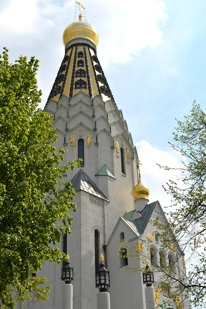 frieden park russian church