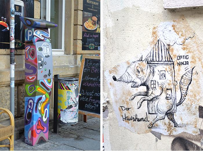 Allemagne Dresde street art