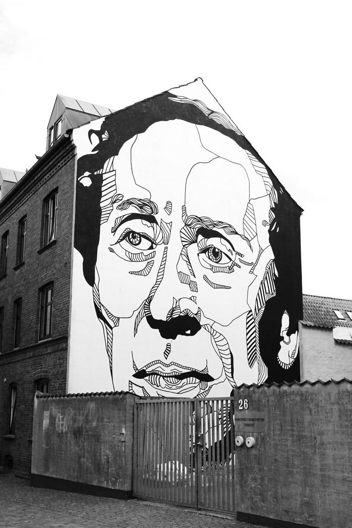 Danemark Odense street art