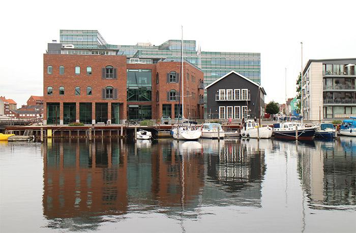 Odense port Danemark