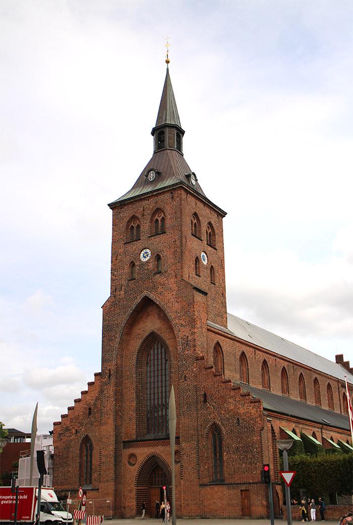 Danemark Odense cathédrale