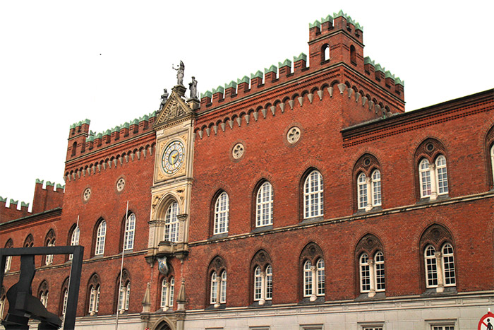 Danemark hotel de ville rathaus