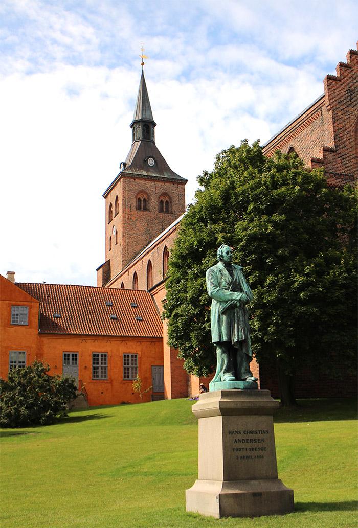 Odense jardin d'Andersen