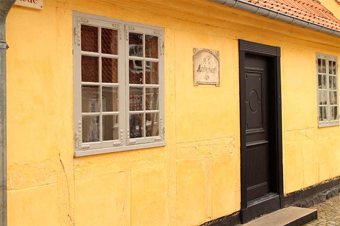 Danemark maison natale Andersen Odense