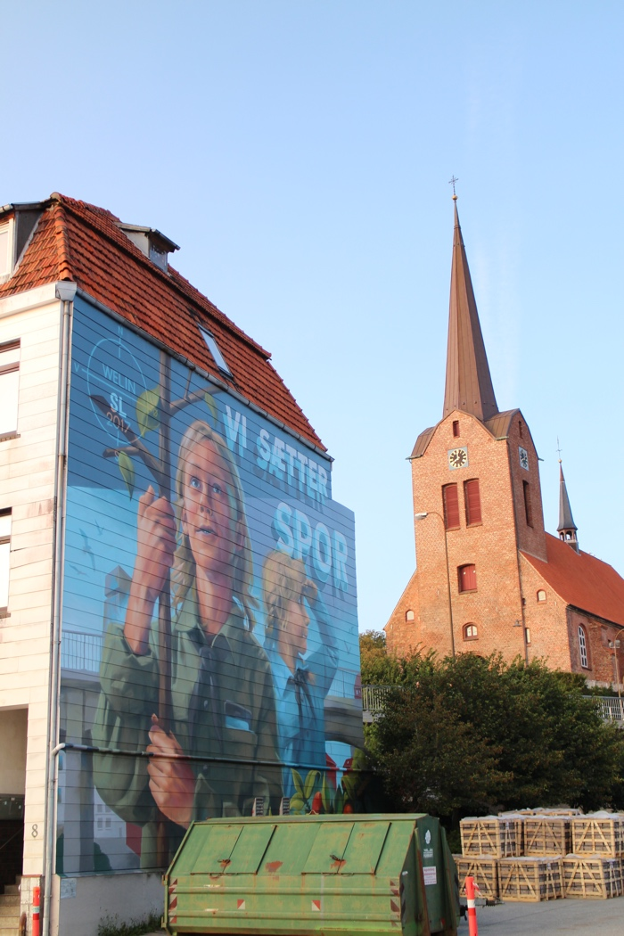 Sønderborg street art Welin