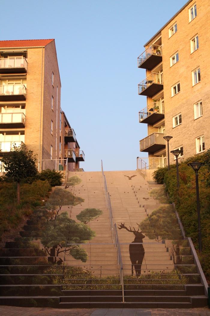 Sonderborg escalier Kristian Vodder Svensson