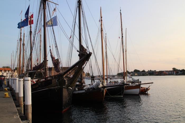 Sonderborg port bateau