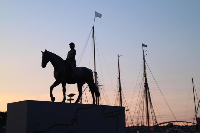 sonderborg statue cheval