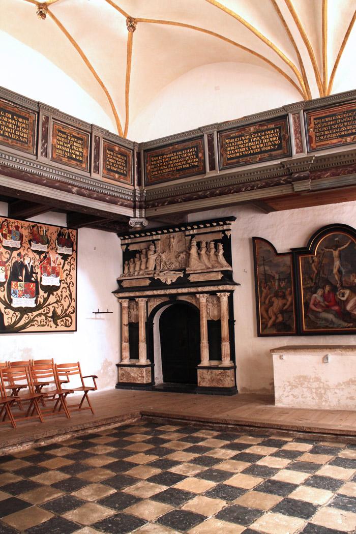 Danemark Sonderborg chapelle chateau