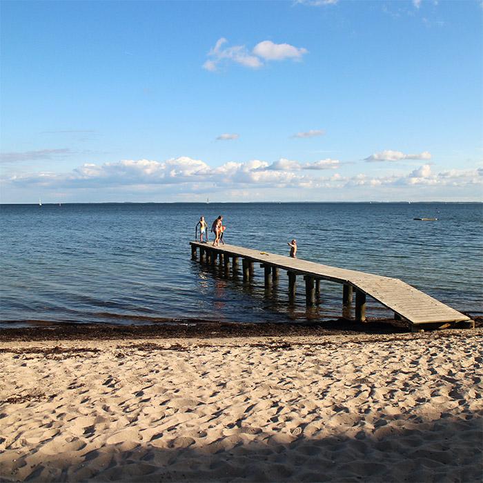 Danemark Sonderborg plage