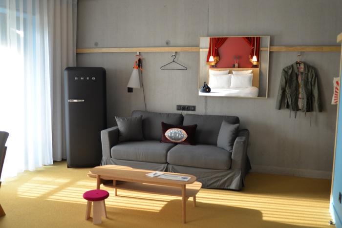 Lyon Mob hotel Confluence chambre