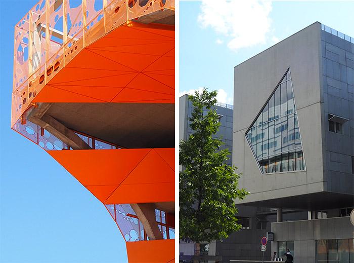 Lyon Confluence architecture