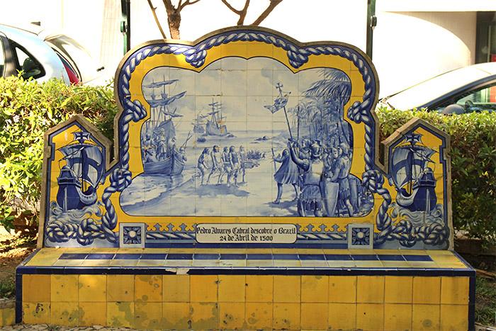 banc azulejos portimao