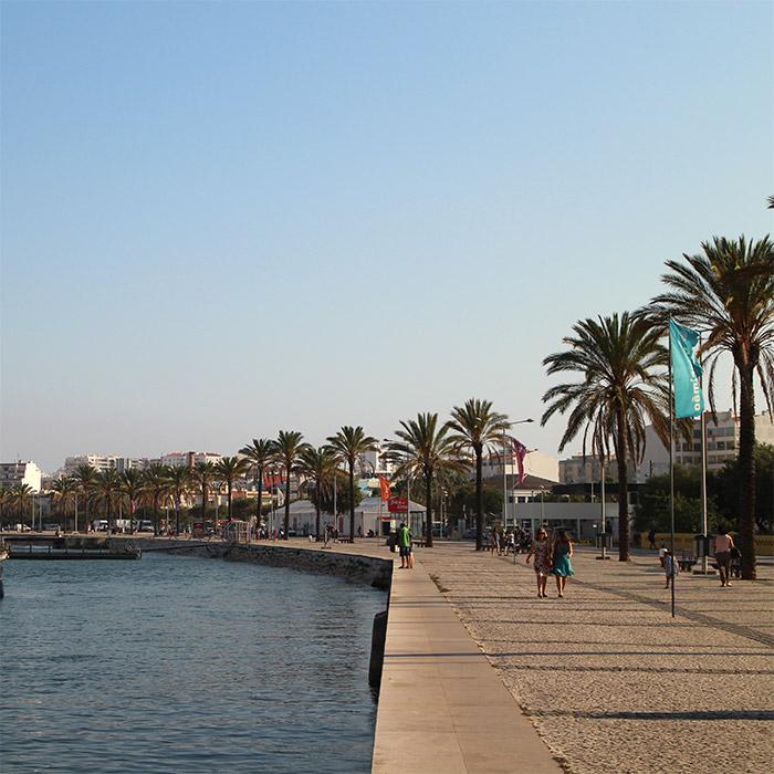 Portugal port promenade Portimao