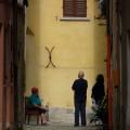 bavarder en Italie