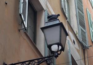 pigeon sur lampadaire