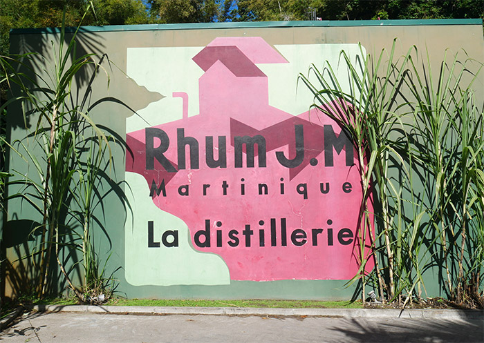 distillerie rhum JM martinique