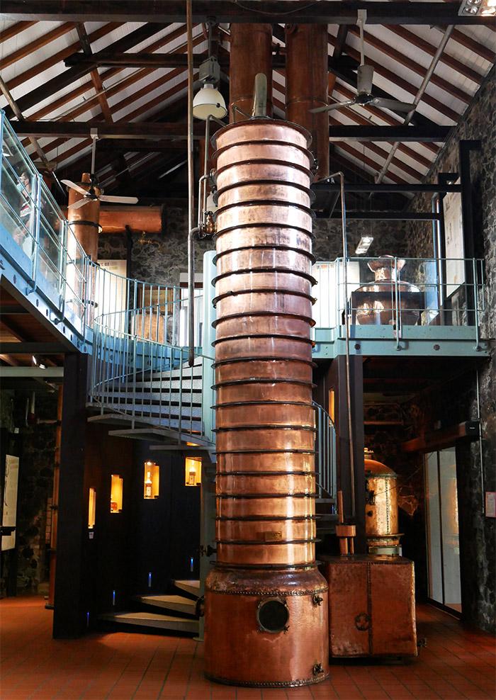 saint james rhum distillerie